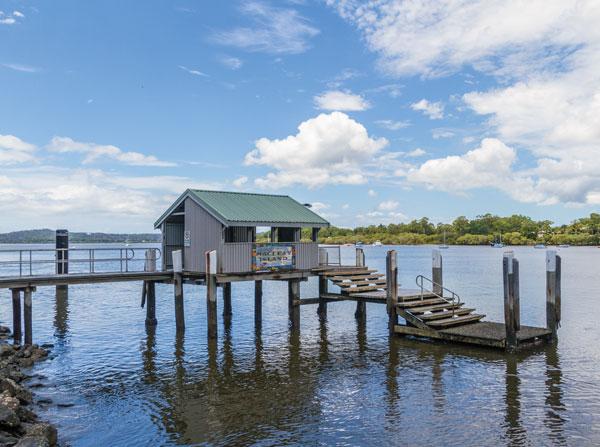 Ron Field Marine Facility - Macleay Island