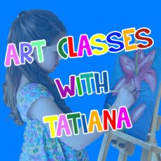 Art Classes with Tatiana @ Progress Hall | Macleay Island | Queensland | Australia