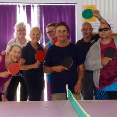 Table Tennis @ The Hut | Russell Island | Queensland | Australia